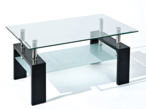 Table basse noir ELORIA